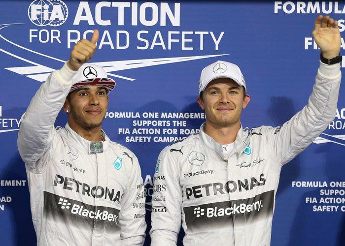 Rosberg Siap Merangsek, Hamilton Cuek