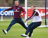 Rooney-Kane, Peluru Inggris Hadapi Italia