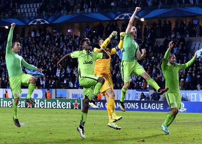 Selebrasi Juventus